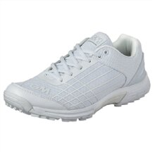GM Cricket Shoes Icon Rubber White Junior Size 1-6