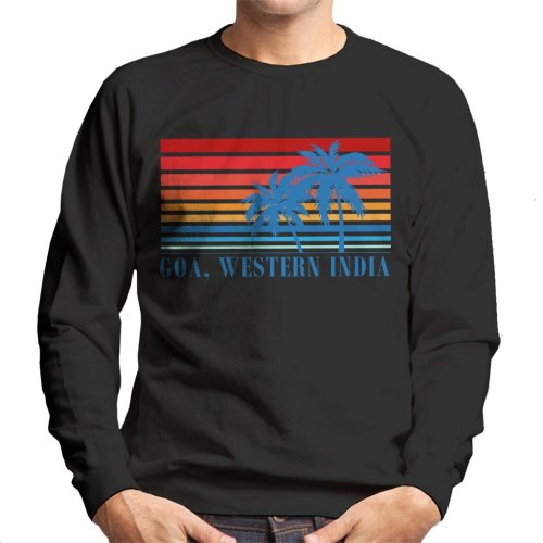 Goa Western India Palm Trees Men's Sweatshirt