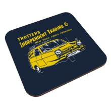Only Fools And Horses Cushty Coaster