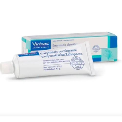 Enzymatic Toothpaste Fish Flavour 43G - Virbac Ltd