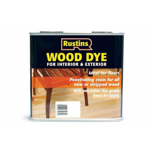 Rustins Wood Dye Dark Oak 2.5 Litre