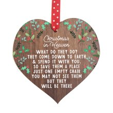 Memorial Christmas Ornaments | Christmas in Heaven | decoration bauble