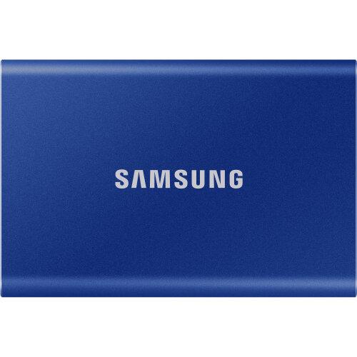 Samsung 500GB T7 Portable SSD (Blue)