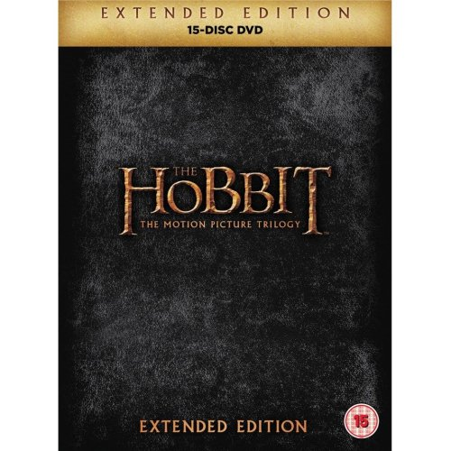 The Hobbit - Trilogy Extended Edition DVD [2015]