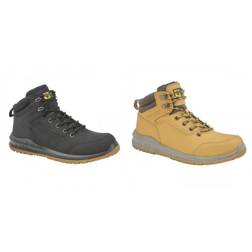 Grafters Mens Action Nubuck Safety Ankle Boots