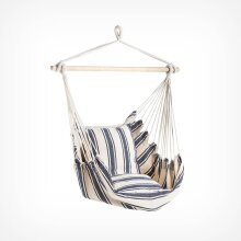 Striped Hanging Garden Chair Breathable Soft Cotton Outdoor