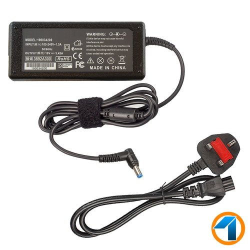 Acer TravelMate P253-E Laptop Charger Adapter Power Supply 19V 3.42A 65W