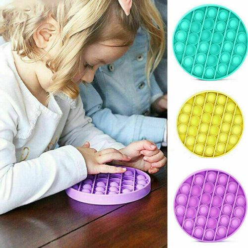 Pop Its Square Fidget Toy Push bubble stress relief kids pop it 2020