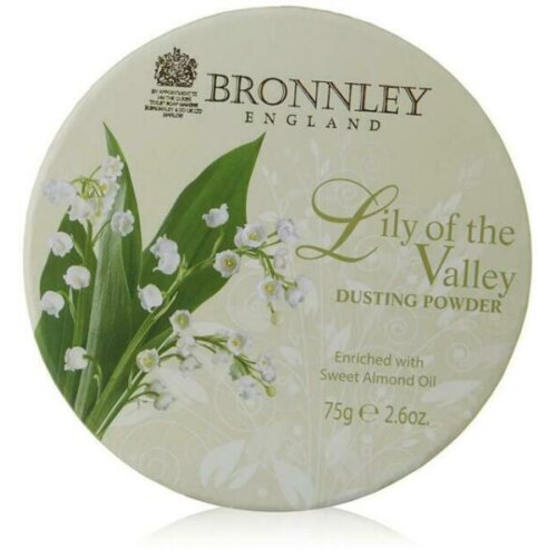 Bronnley Lily of The Valley Dusting Powder 75g