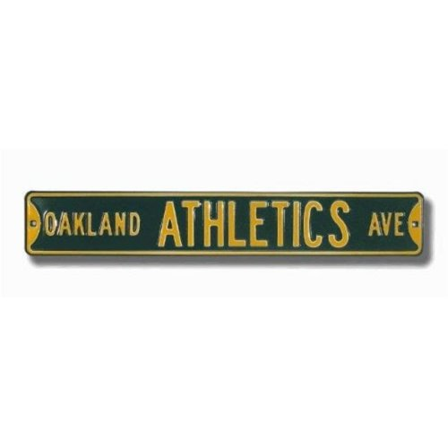 Authentic Street Signs 30121 Oakland Athletics Avenue Street Sign