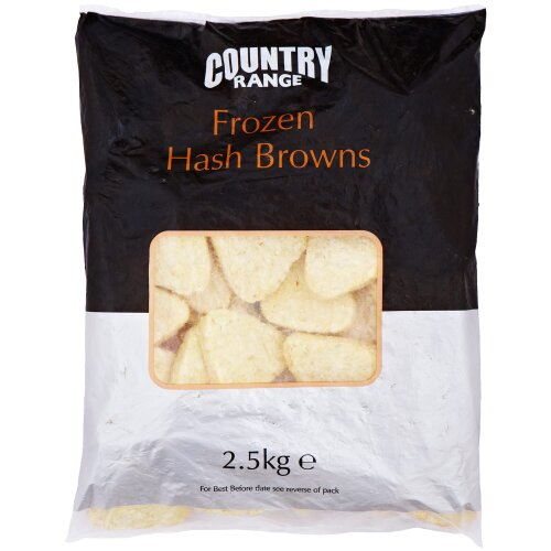 Country Range Frozen Triangle Hash Browns - 4x2.5kg