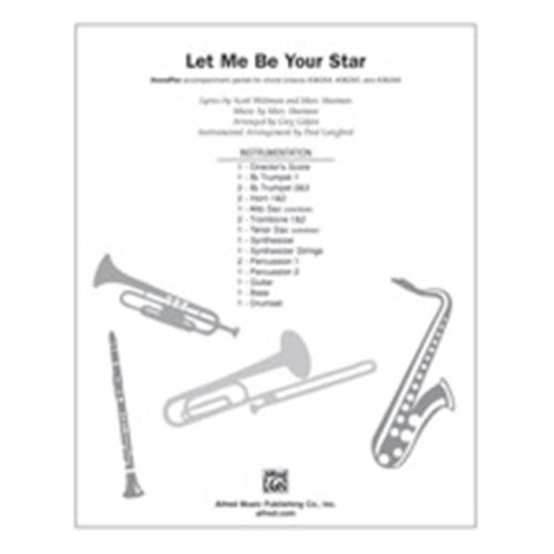 Alfred 00-38268 LET ME BE YOUR STAR-SPX