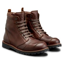 Belstaff Resolve Leather Boots Brown