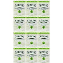 Simple Soap Bar 125g Twin Pack x 12 Packs