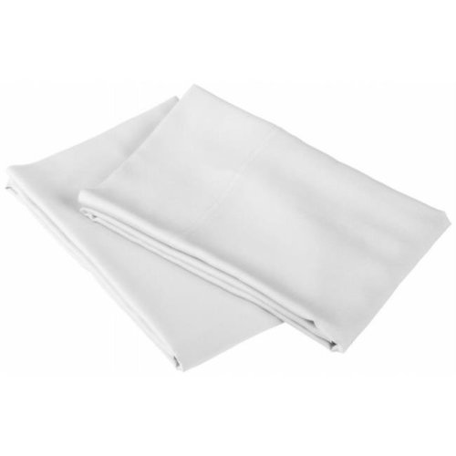 Rayon from Bamboo Pillowcase Set White
