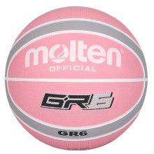 Molten GR7 Indoor Outdoor Rubber Basketball Ball Pink