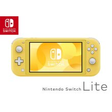 Nintendo Switch Lite Portable Console (Yellow) - 2019 Model - Used