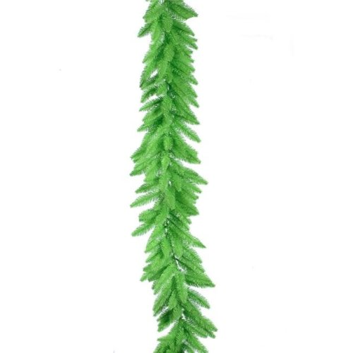 Vickerman K162715 Lime Dura-Lit Garland with Lime Lights, 9 ft. x 14 in.