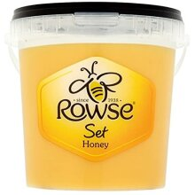 Rowse Clear Set Honey Syrup Pure Natural Sweet Creamy Smooth Large Tub 1.36kg