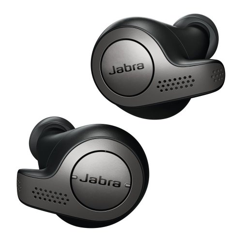 Jabra Elite 65t Wireless Bluetooth Earbuds With Voice Assistant Titanium Black