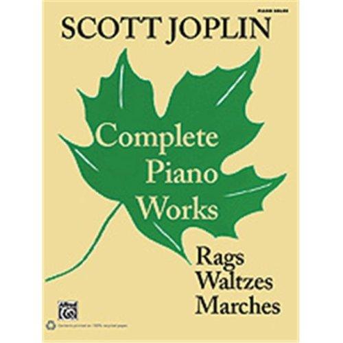 Alfred 00-36268 JOPLIN-COMPLETE PIANO WORKS