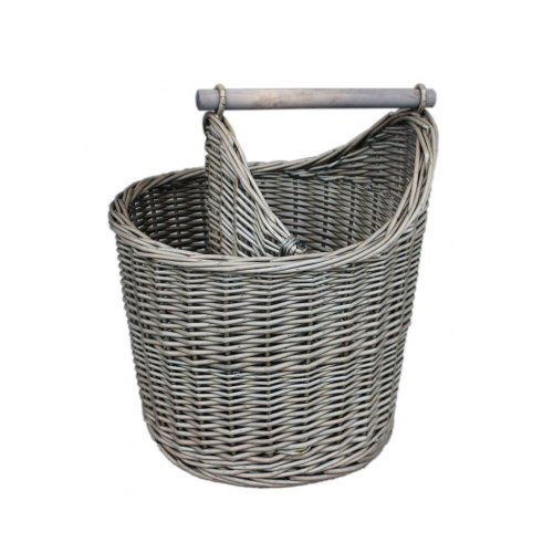 Wicker Bathroom Basket On