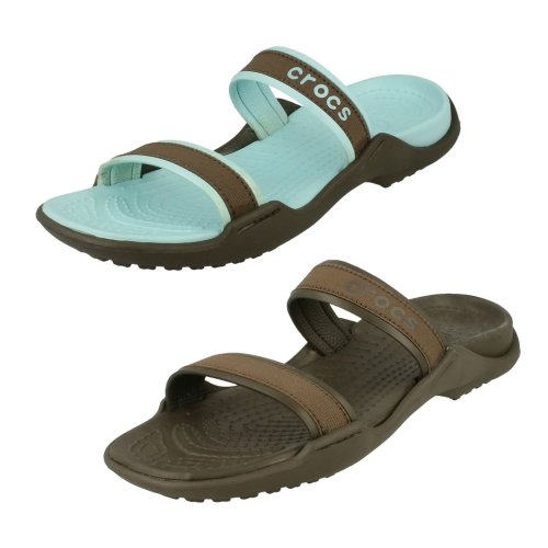 Ladies Crocs Slip On Sandals Patra