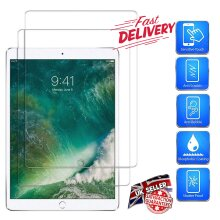(2 Pack) Real Tempered Gorilla Glass Anti Fingerprint Scratch Resistant 9H Hardness HD Ultra Clear Screen Protector For Apple iPad PRO 9.7 inch (2016)