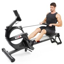 Dripex Magnetic Rowing Machine for Home Use with 15-Level Resistance