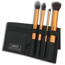 LaRoc 4pc Brush Collection   Beginner Makeup Brush Set