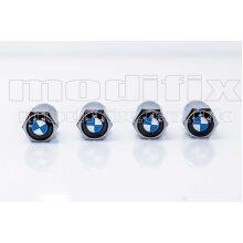 modifix_co_uk BMW Set of 4 Genuine Modified Logo Tyre Valve Caps Valves