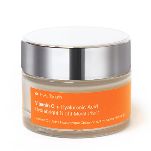 Vitamin C + Hyaluronic AcidHydrabrightNight Moisturiser 50ml