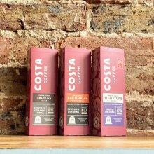 Costa Signature Blend Coffee Nespresso capsules 3 pack - Mocha   Brazilian   Columbian 30 Capsules