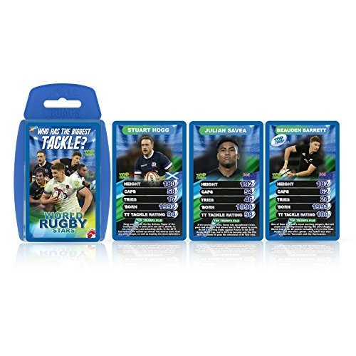 Top Trumps World Rugby Stars Card Game - 2018 Edition