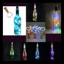 1 x LED String Bottle Lights with 15 LEDs