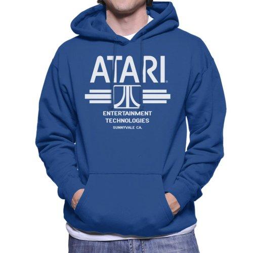 (X-Large) Atari Entertainment Technologies Men's Hooded Sweatshirt