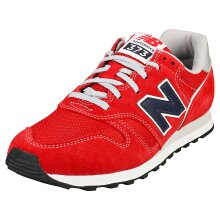 New Balance 373 Mens Casual Trainers in Red Navy