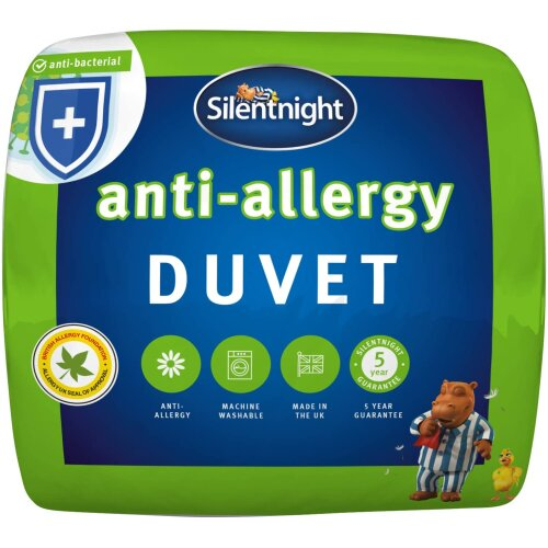 (Single) Silentnight Anti-Allergy Duvet 13,5 Tog Anti-Bacterial Quilt
