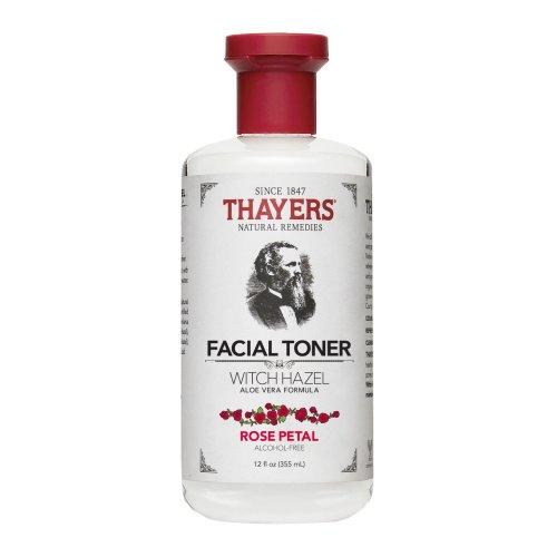 Thayers Alcohol-Free Rose Petal Witch Hazel Facial Toner With Aloe Vera - 355ml