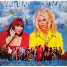 "It's Raining Men...The Sequel - Martha Wash featuring RuPaul 12"" - Used"