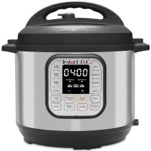Instant Pot 80 Duo 8L / 8Q Electric Multi Function Cooker, Stainless Steel, 1200 W, 8 liters
