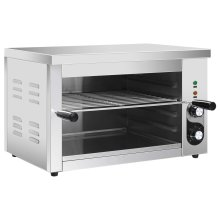 vidaXL Electric Gastronorm Salamander Grill 3000W Stainless Steel Kitchen Oven