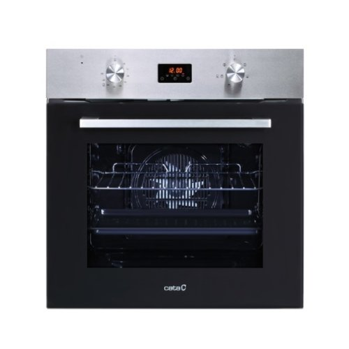 Multipurpose Oven Cata MD6106X 60 L AquaSmart 2200W Stainless steel Black