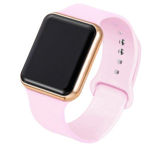Sport Digital Watch, Women / Men Square LED Watch Silicone Electronic Watch