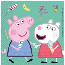 Peppa Pig Party Napkins 20pk