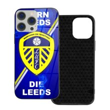 Leeds United FC Phone Cases Compatible with iPhone 12/ iPhone 12 Pro/ 12 Mini/ 12 Pro Max Glass Back Cover