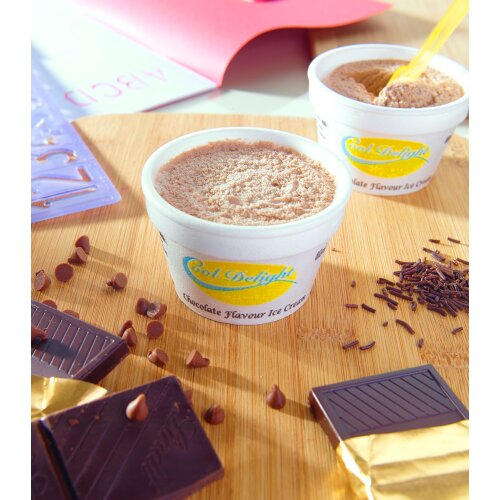 Cooldelight Chocolate Ice Cream Insulated Cups - 60x80ml