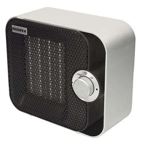 Adax VV21CA Small Portable Electric Fan Heater, 800W / 1200W, Modern