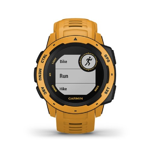 Garmin Instinct Rugged GPS Watch - Sunburst (010-02064-44) (Eng Only)