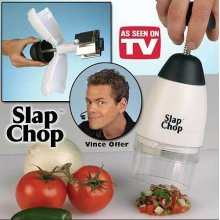 Kitchen Slap Chop Food Chopping Machine Tool Cutter Fruit Vegetable Slicer New